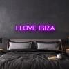 i love ibiza LED Neon Sign