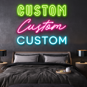 custom led neon sign