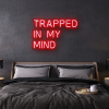 trapped in my mind LED Neon Sign