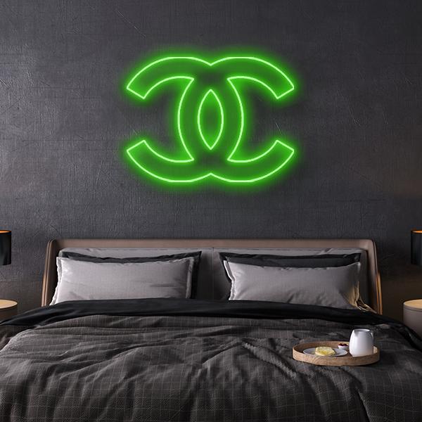 Chanel Logo Neon Sign