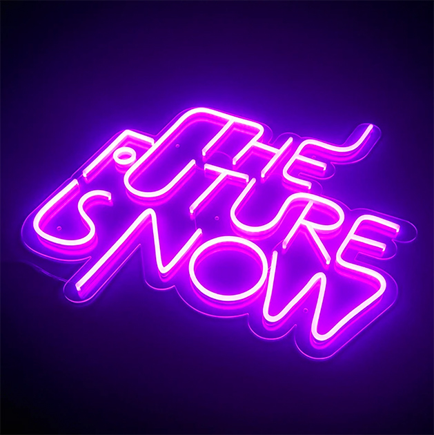 the future is now LED Neon Sign