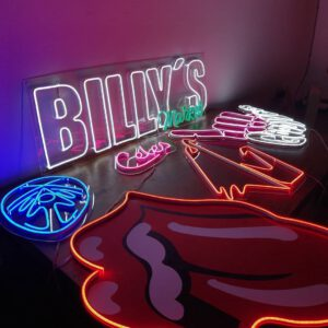 custom led neon sign shop