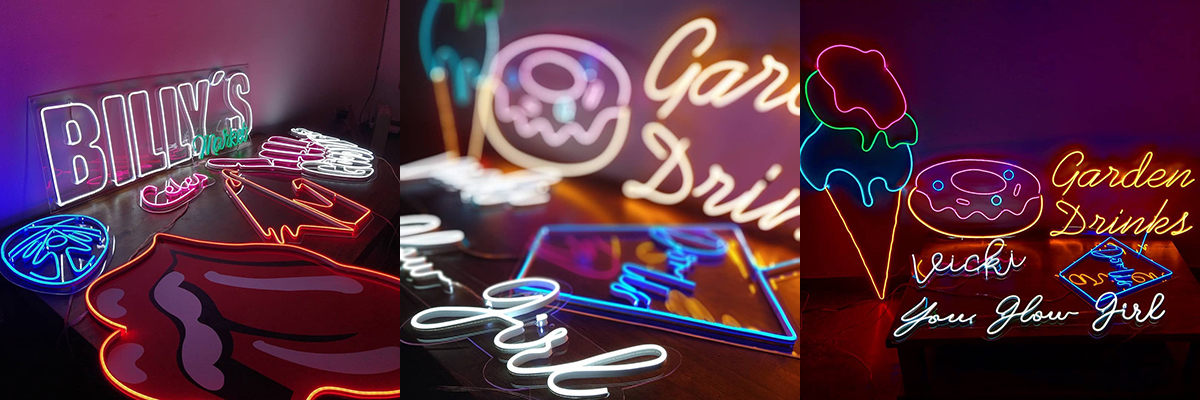 Letreros Neon Letras de Neon personalizadas