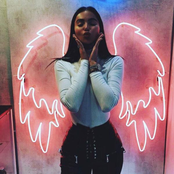 Angel Wings Neon Sign