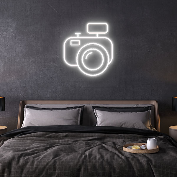 Camera Neon Sign