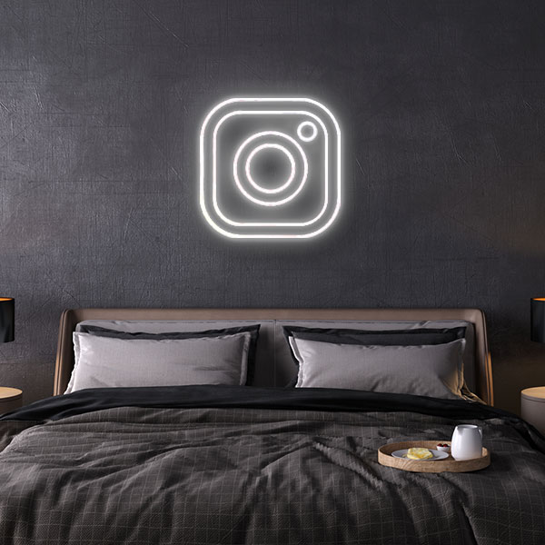 Instagram Logo Neon Sign
