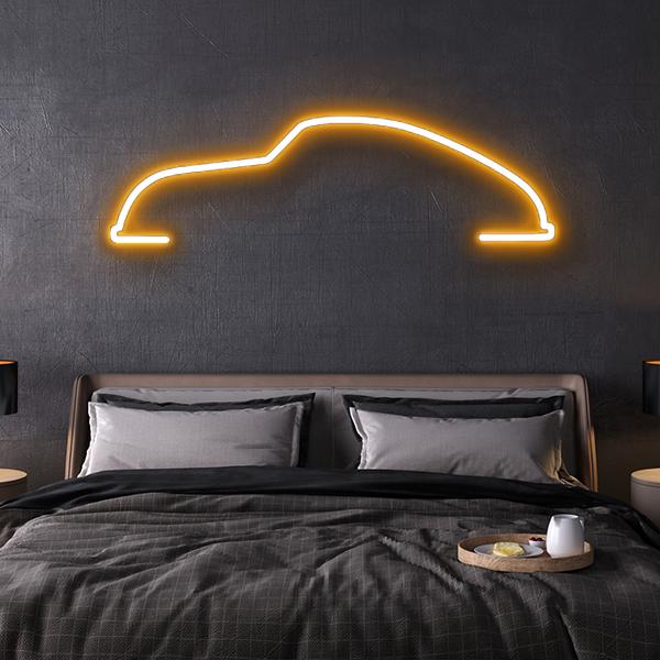 porsche 356 LED neon sign schriftzug