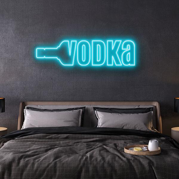 vodka neon sign