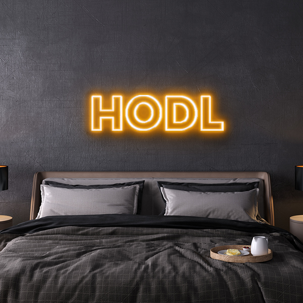 HOLD Neon Sign